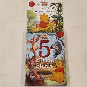 Winnie the Pooh books- 2ea.